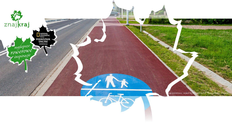 Droga rowerowa - wjazd do Rzeszowa