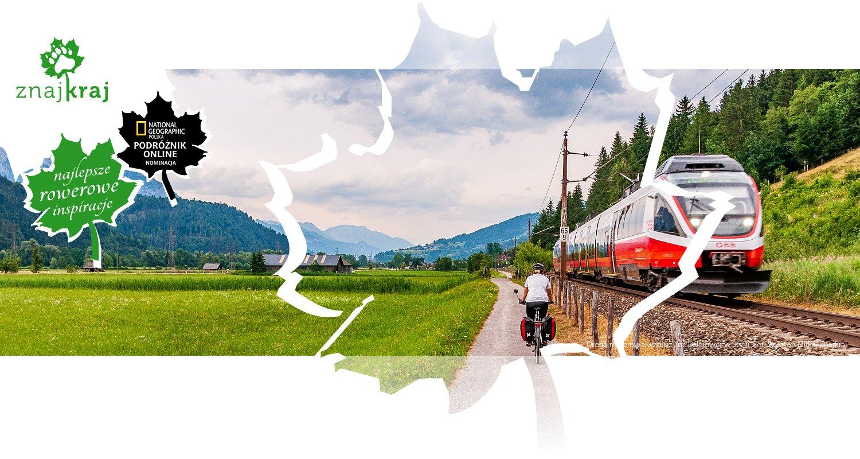 Droga rowerowa wzdłuż linii kolejowej w Styrii