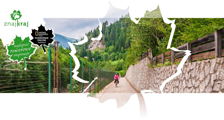 Droga rowerowa wzdłuż linii kolejowej z Brenner