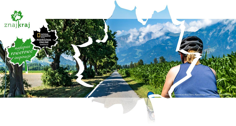 Droga rowerowa wzdłuż Renu Alpejskiego