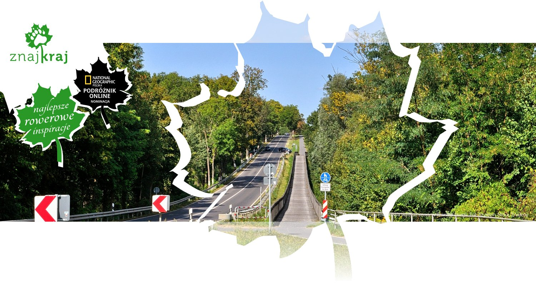 Droga rowerowa wzdłuż szosy w Brandenburgii