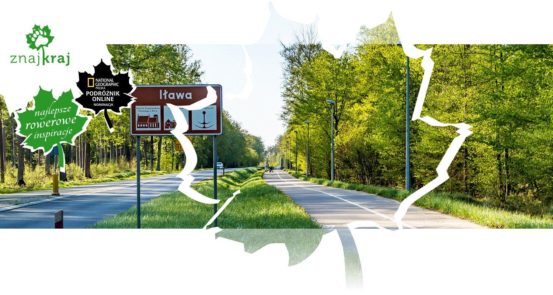 Droga rowerowa z Iławy w kierunku Lubawy