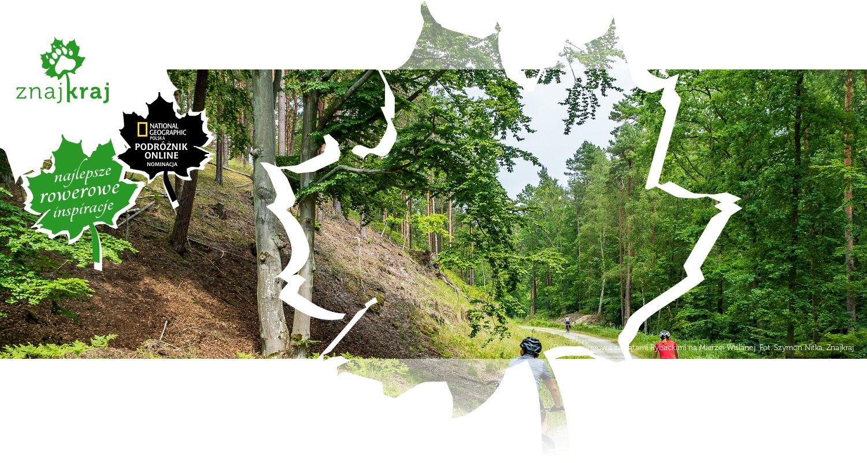 Droga rowerowa za Kątami Rybackimi na Mierzei Wiślanej