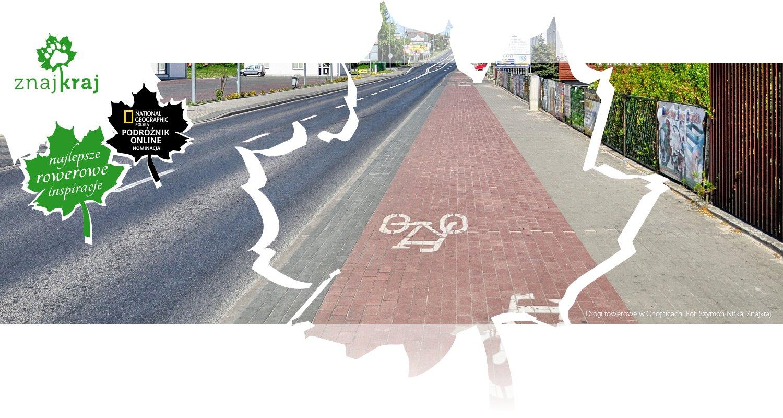 Drogi rowerowe w Chojnicach