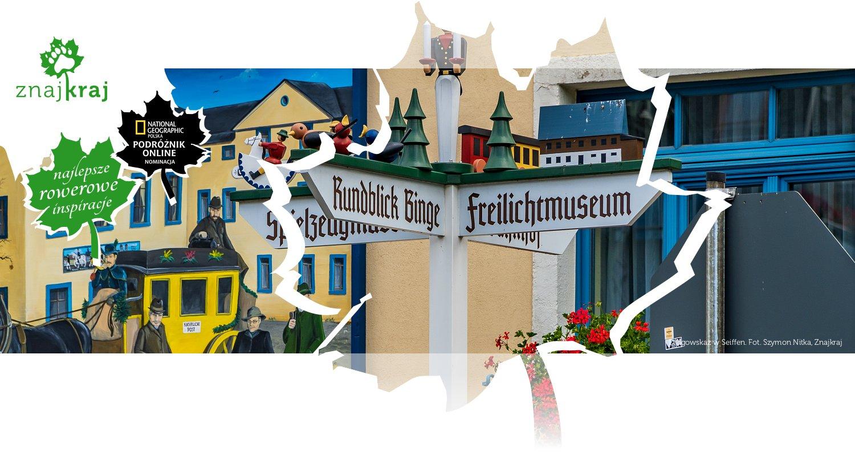 Drogowskaz w Seiffen