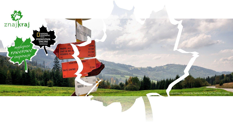 Drogowskazy na przełęczy Graniczne