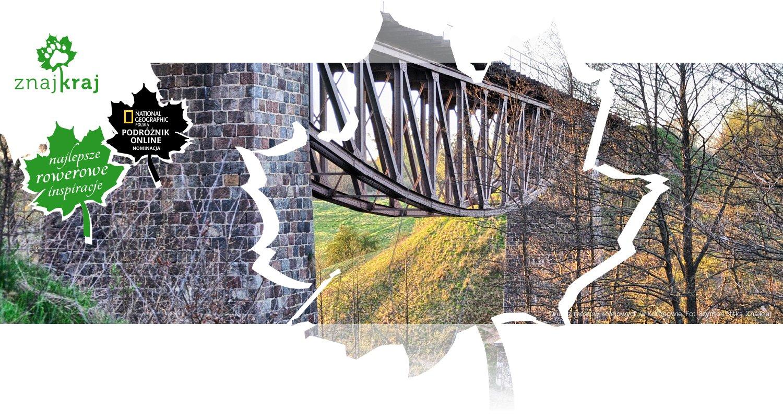 Drugi z mostów kolejowych w Koronowie