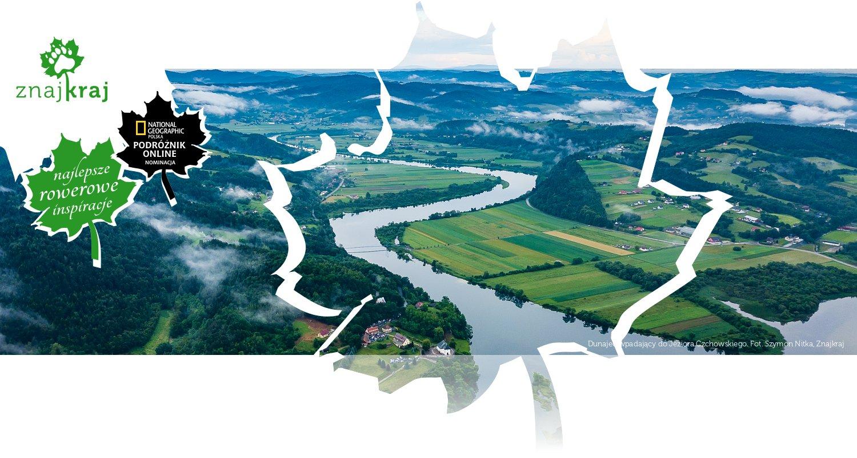 Dunajec wpadający do Jeziora Czchowskiego
