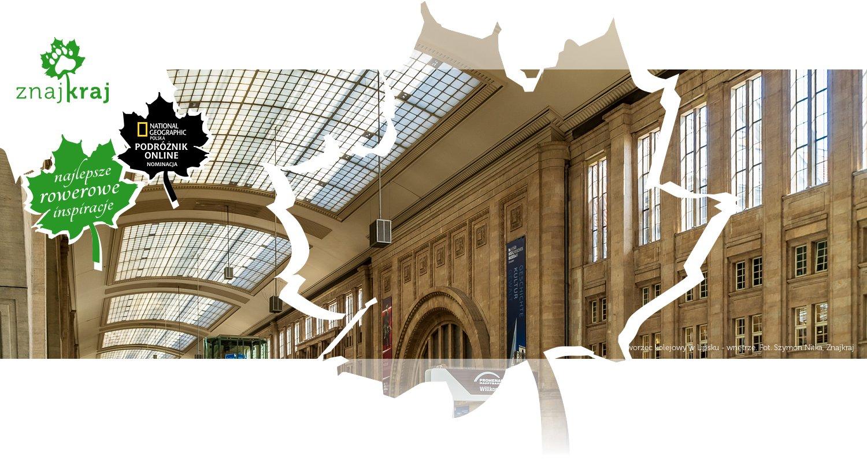 Dworzec kolejowy w Lipsku - wnętrze
