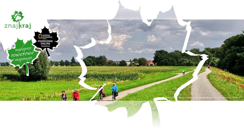Dwukierunkowa droga rowerowa w Brandenburgii