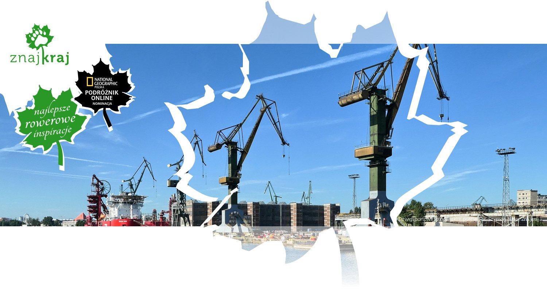 Dźwigi portowe w gdańskim porcie