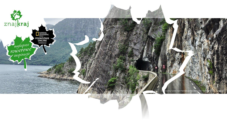 Efektowny tunel nad Hardangerfjordem