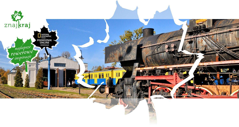 Eksponaty w skansenie kolejowym w Kościerzynie
