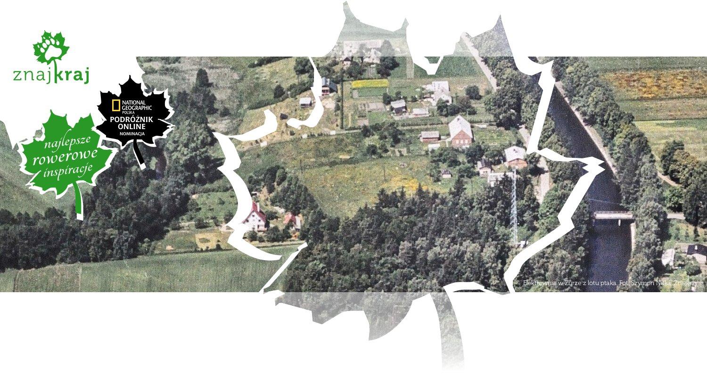 Elektrownia w Żurze z lotu ptaka