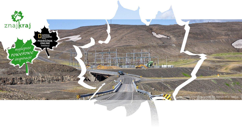 Elektrownia wodna Sigalda na końcu drogi F208