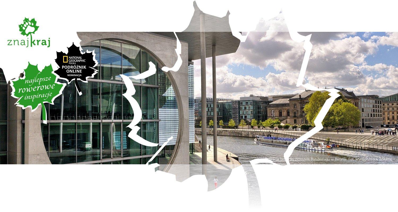 Elewacja budynku biblioteki Bundestagu w Berlinie