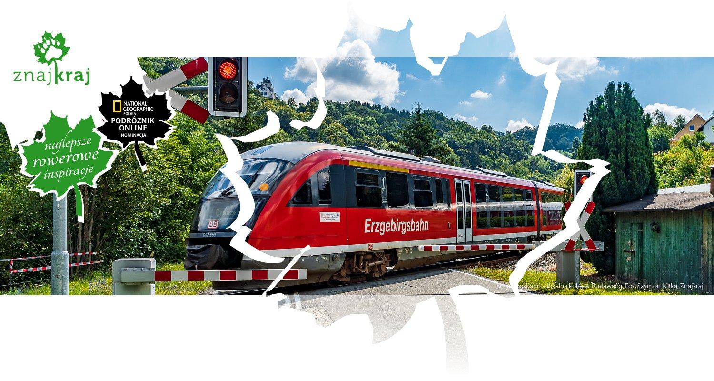 Erzgebirgsbahn - lokalna kolej w Rudawach