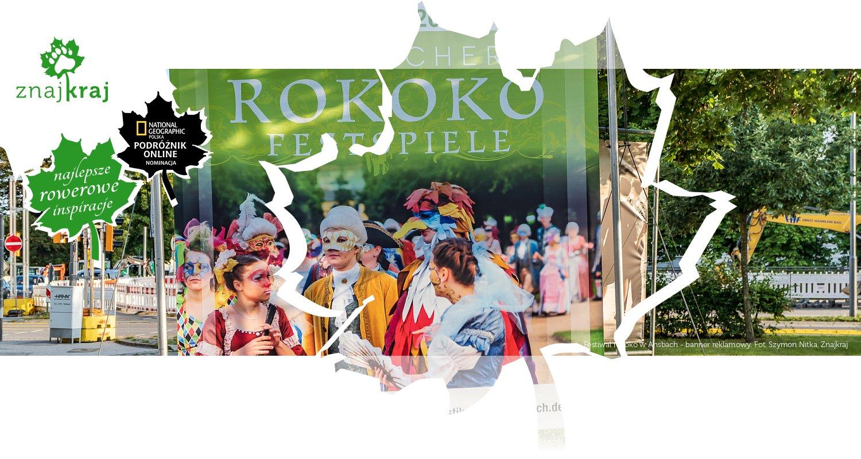 Festiwal rokoko w Ansbach - banner reklamowy