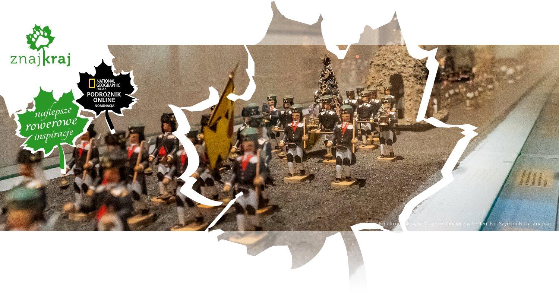 Figurki górników w Muzeum Zabawek w Seiffen
