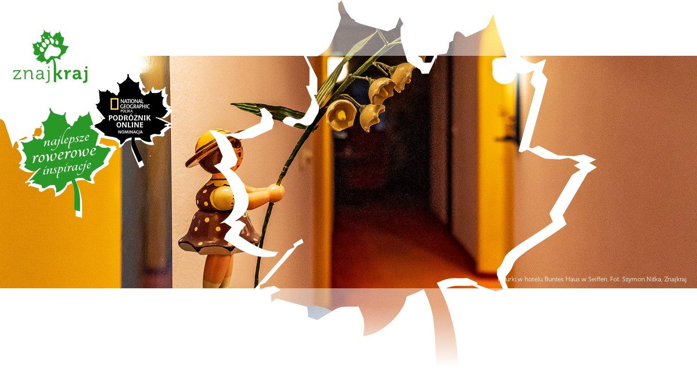 Figurki w hotelu Buntes Haus w Seiffen