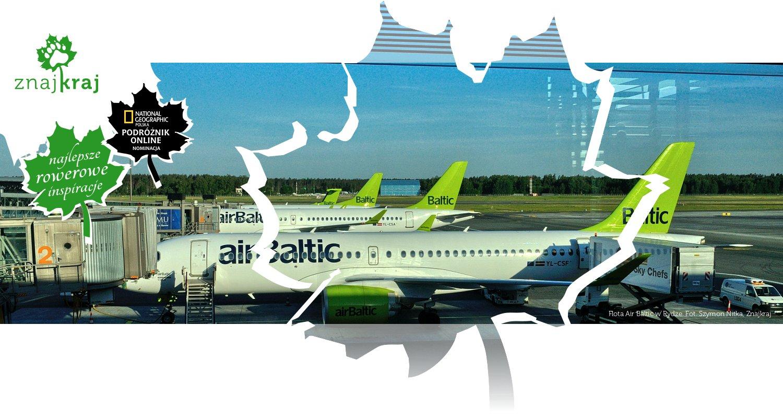 Flota Air Baltic w Rydze