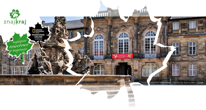 Fontanna Margrabiego przed Nowym Pałacem