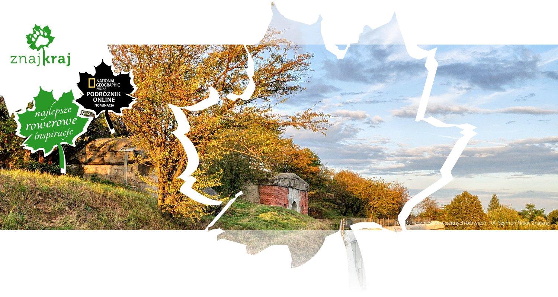 Fort Duńkowiczki w jesiennych barwach