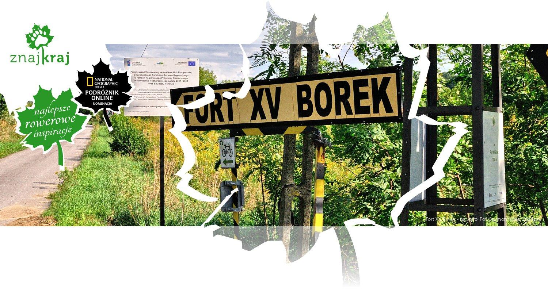 Fort XV Borek - na lewo