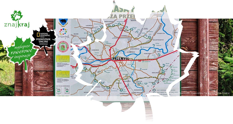 Forteczna Trasa Rowerowa - mapa szlaku