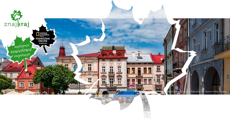 Fragment wschodniej i północnej pierzei rynku w Przemyślu
