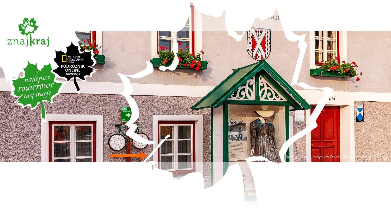 Gablota z lokalną tradycją w Öblarn