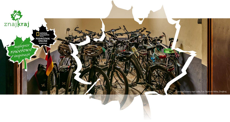 Garaż na rowery nad Łabą