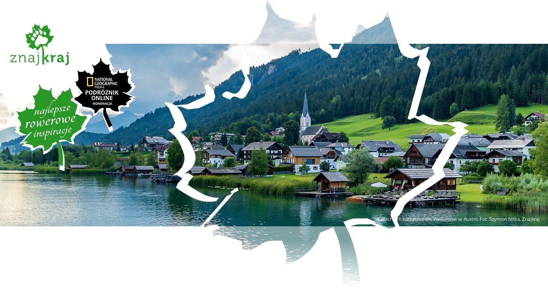 Gatschach nad jeziorem Weißensee w Austrii