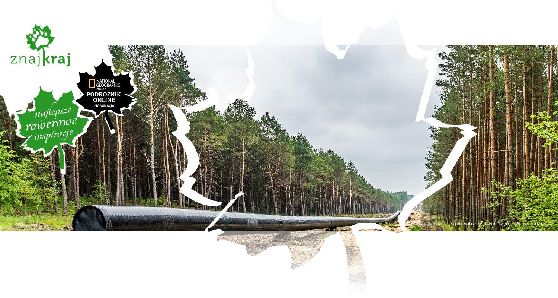 Gazociąg budowany koło Rabsztyna
