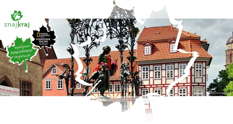 Gęsiareczka - fontanna na rynku w Getyndze