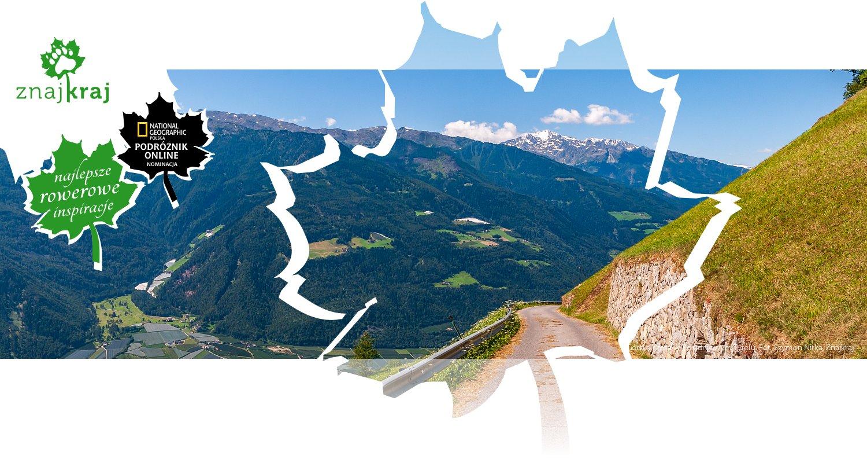 Górska szosa w Południowym Tyrolu