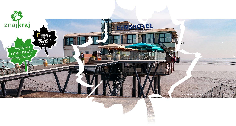 Hotel na palach w Delfzijl