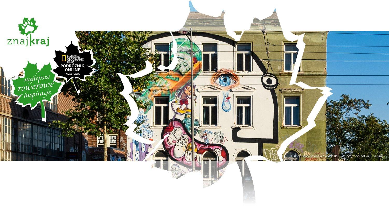 Iluzjonista - street art w Lipsku