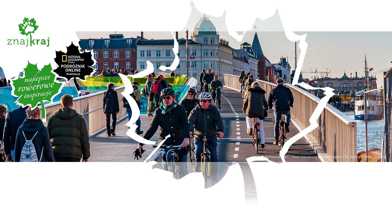 Inderhavnsbroen - most rowerowy w Kopenhadze