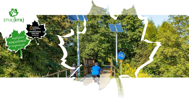 Instalacje solarne na Żelaznym Szlaku Rowerowym