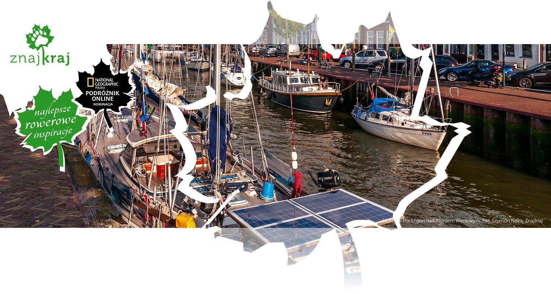 Jachty w Harlingen nad Morzem Wattowym