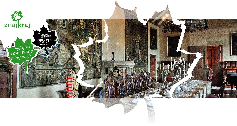Jadalnia na zamku Marienburg
