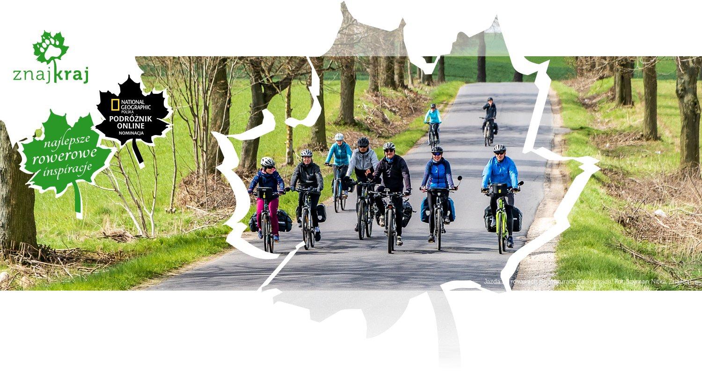 Jazda na rowerach po Mazurach Zachodnich