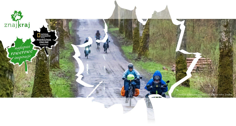 Jazda w deszczu na rowerze