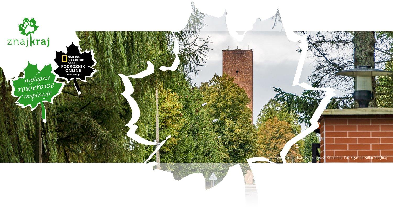 Jedna z wież Ordensburg Krössinsee w Złocieńcu