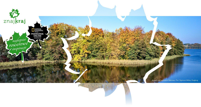 Jesień nad jeziorem Rekowo