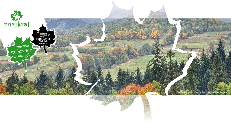 Jesienne lasy koło Cięciny