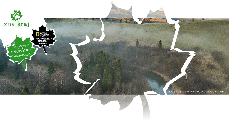 Jesienny krajobraz w Bieszczadach