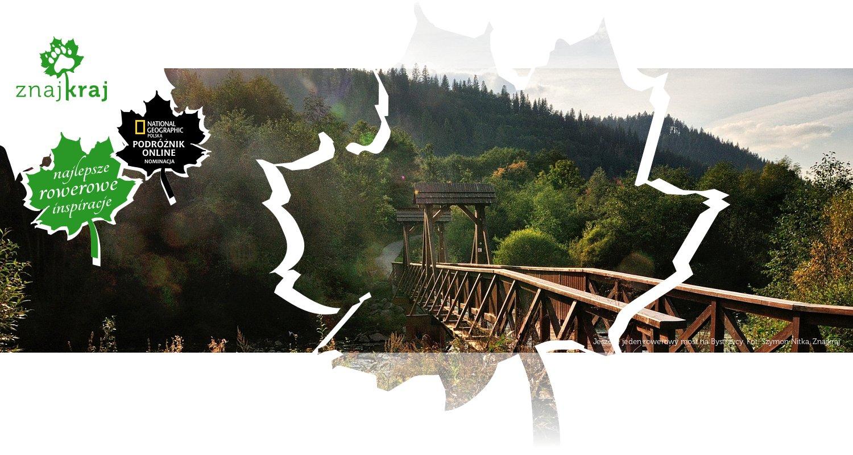Jeszcze jeden rowerowy most na Bystrzycy