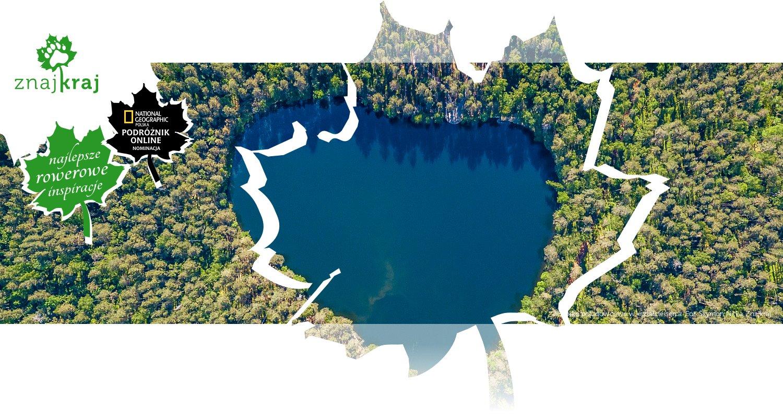 Jeziorko polodowcowe w kształcie serca